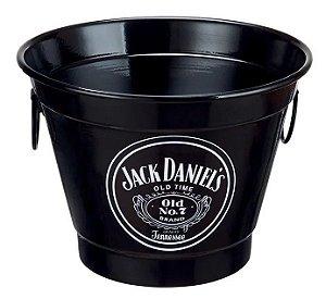 Balde De Gelo Alumínio Térmico Cerveja Jack Daniels 6L