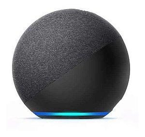 Amazon Echo Dot 4th Gen com assistente virtual Alexa charcoal 110V/240V