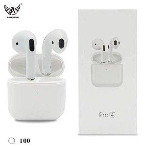 Fone de ouvido iPhone Primeira linha Sem fio Bluetooth 5.0 Super Bass conecta automática PRO 4