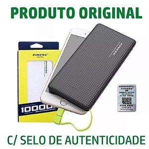 Carregador Portatil Celular 10000 Bateria Pineng Original Nf