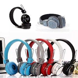 Fone Ouvido Original Bluetooth Sem Fio Microsd Fm P2 Mp3 B05