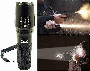 Lanterna Tática Profissional Bateria Recarregável Led T6 Ori