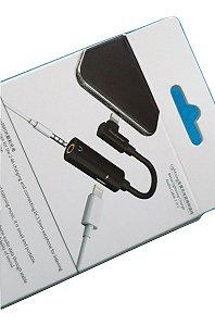 Ouça Música No Conector P2 3.5mm E Carrega Seu iPhone Juntos