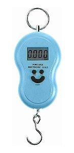 Balança Digital Suspensa Portátil Com Gancho 10g Até 50kg