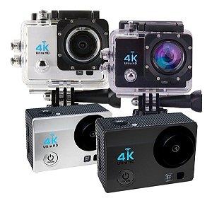 Action Cam Câmera Sports Ultra Hd Wi-fi 4k Tela Lcd