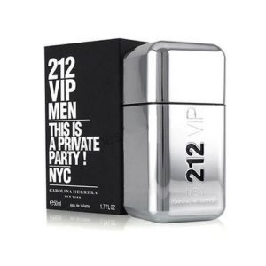 Perfume carolina herrera 212 vip men 50ml