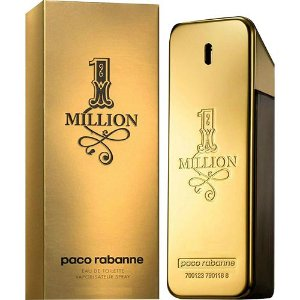 Perfume paco rabanne one million eau de toilette 50ml