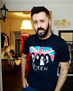 T-shirt Rock Queen Tam G