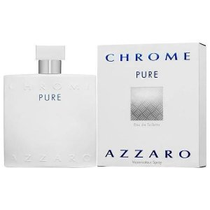 Perfume azzaro chrome pure eau de toilette 100ml