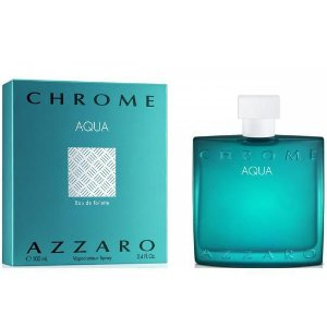 Perfume azzaro chrome aqua eau de toilette 100ml