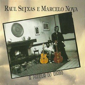 CD Raul Seixas e Marcelo Nova - A Panela do Diabo (USADO)