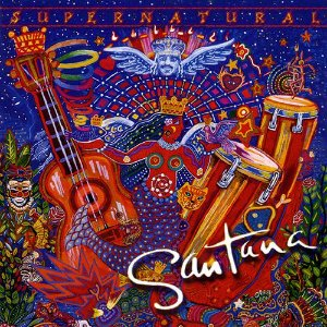 CD Carlos Santana – Supernatural (1999) (USADO)