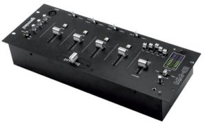 Mixer Gemini Mm 01 Profissional Padrão Rack 19 De 4 Canais