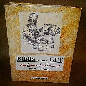 Biblia De Estudo Ltt Literal Do Texto Tradicional  V T / N T