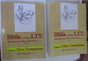 Biblia De Estudo Ltt Literal Do Texto Tradicional  V T / N T - 2 Volumes
