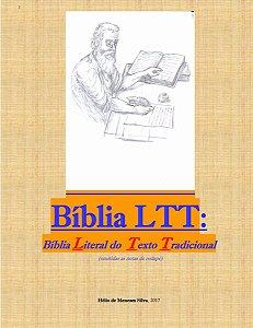 Biblia De Estudo Ltt Literal Do Texto Tradicional  V T / N T Sem Notas de Rodapé
