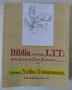 Biblia De Estudo Ltt Literal Do Texto Tradicional  Velho Testamento