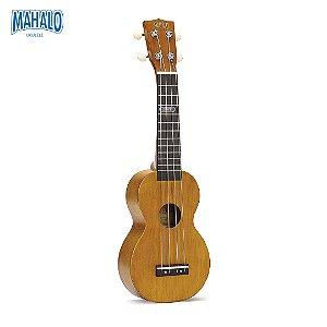 Ululele Soprano Mahalo Kahiko Plus Natural (Kit Acessórios)