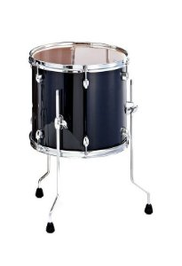 Surdo Bateria Pearl Export Exx 16x16 Cor Satin Shadow Black