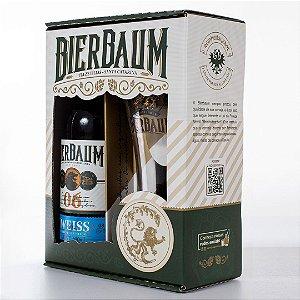 Kit Especial Colecionador de Cervejas Bierbaum | Weiss Helles + Copo de Cerveja