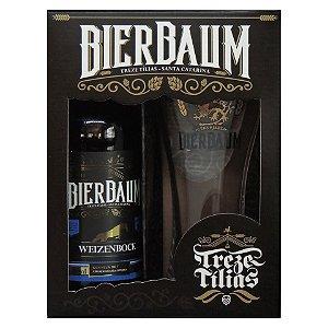 Kit Especial Colecionador de Cervejas Bierbaum | Weizenbock + Copo de Cerveja