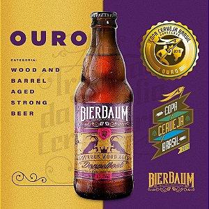 Cerveja Doppelbock Bourbon Wood Aged Bierbaum| Garrafa 300ml