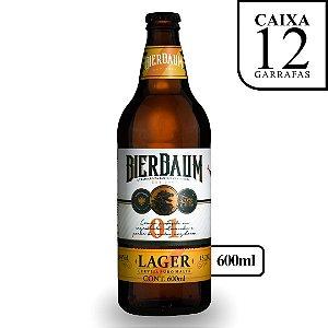 Caixa com 12 Cervejas Lager Bierbaum | Garrafa 600ml