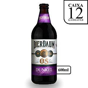 Caixa com 12 Cervejas Dunkel Bierbaum | Garrafa 600ml