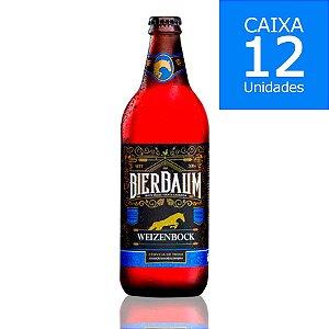 Caixa com 12 Cervejas Weizenbock Bierbaum   Garrafa 600ml