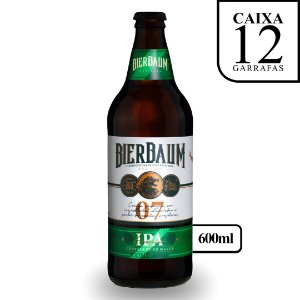 Caixa com 12 Cervejas American IPA Bierbaum | Garrafa 600ml