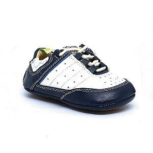 ebab2ed65e Sapato Le Fantymy Couro Branco Marinho
