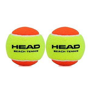 Bola de Beach Tennis Head - Pack com 02 Unidades