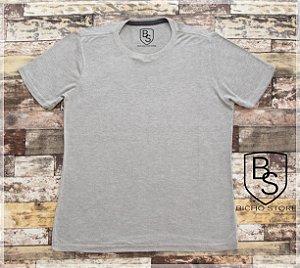 Camiseta básica lisa (sem estampas) - MESCLA CLARA