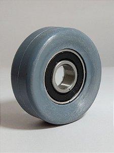 Rodízio para esteira flexível - Eixo de Ø 12mm