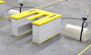 Mesa Elevatória Eletro hidráulica - Ergonômica