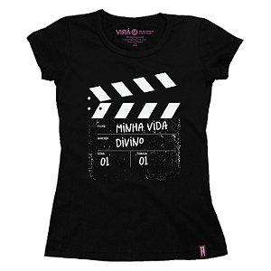 CAMISETA FEMININA FILME FILIPE FLEXA