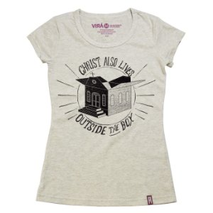 Camiseta Feminina Box