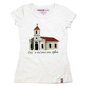 Camiseta Feminina Église
