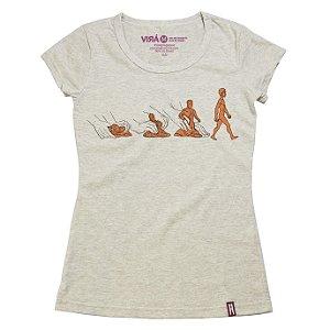Camiseta Feminina Feito de Barro