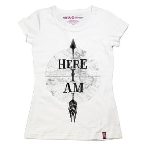 Camiseta Feminina Here I Am