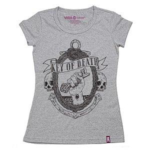 Camiseta Feminina Key