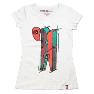 Camiseta Feminina Pregador