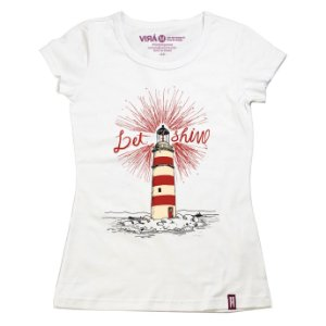 Camiseta Feminina Shine
