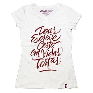 Camiseta Feminina Vidas Tortas