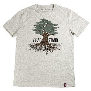 Camiseta We Stand
