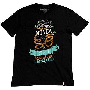 Camiseta Nunca Só