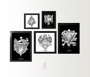 Kit Conjunto Solas | Poster (Com Moldura)