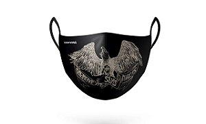 Máscara de Proteção Renove Suas Forças Preta