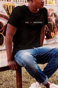Camiseta T-Shirt Paz Maior Que Ansiedade