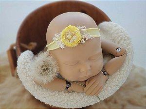 Headband Flor Amarela